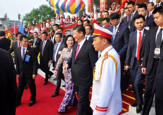 Tổng Bí thư, Chủ tịch Tập Cận Bình dự lễ khánh thành Cung hữu nghị Việt - Trung - Ảnh 7.