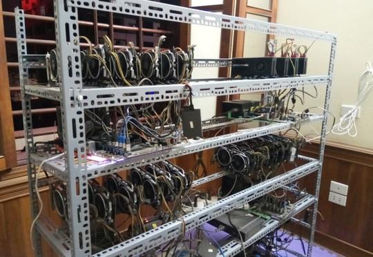 Tận mắt thấy dàn trâu đào tiền ảo Bitcoin tiền tỉ ở Hà Nội - Ảnh 5.