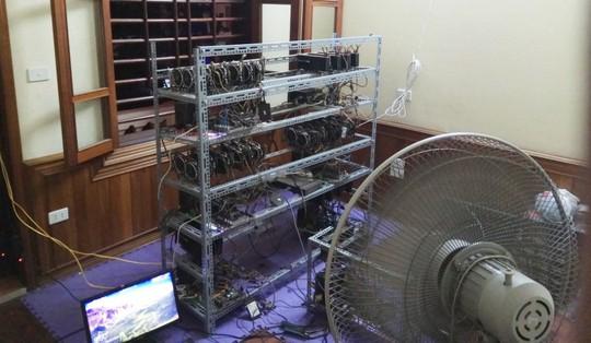 Tận mắt thấy dàn trâu đào tiền ảo Bitcoin tiền tỉ ở Hà Nội - Ảnh 13.