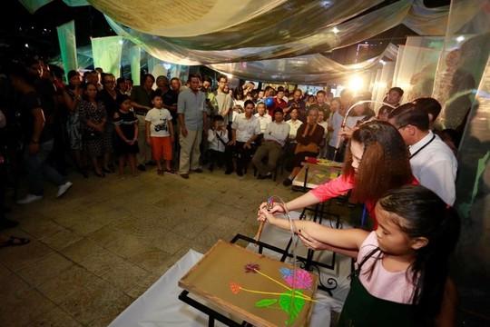 Triển lãm nghệ thuật trúc chỉ lần đầu tiên ở Đà Nẵng - Ảnh 8.