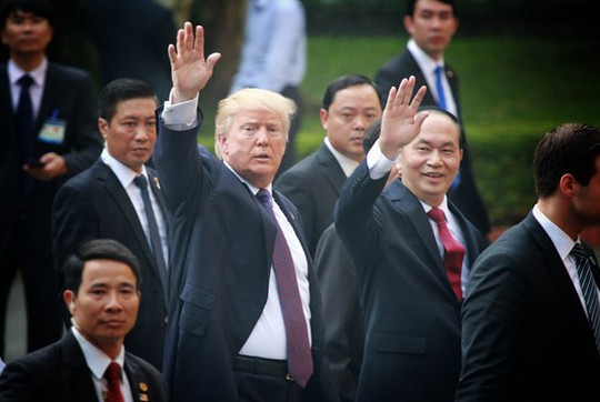 Chủ tịch nước và Tổng thống Donald Trump ra Tuyên bố chung Việt-Mỹ - Ảnh 1.