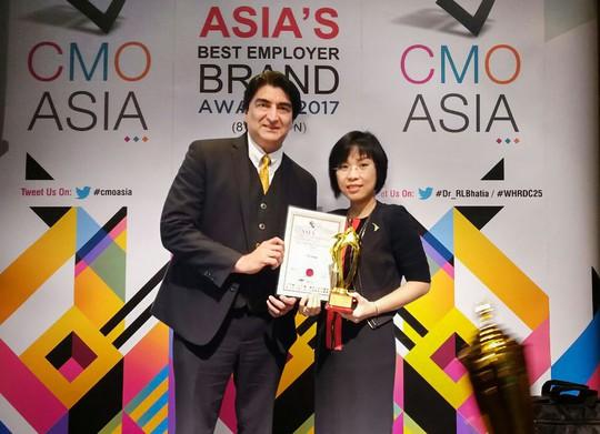 Tập đoàn TTC nhận giải thưởng quốc tế Asia Best CSR Practices Awards 2017 - Ảnh 1.