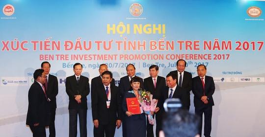 TTC đẩy mạnh hợp tác, đóng góp tích cực vào Bến Tre - Ảnh 1.