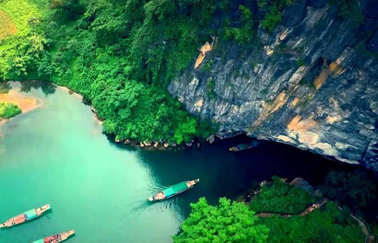 Hấp dẫn lễ hội hang động Quảng Bình - Ảnh 3.