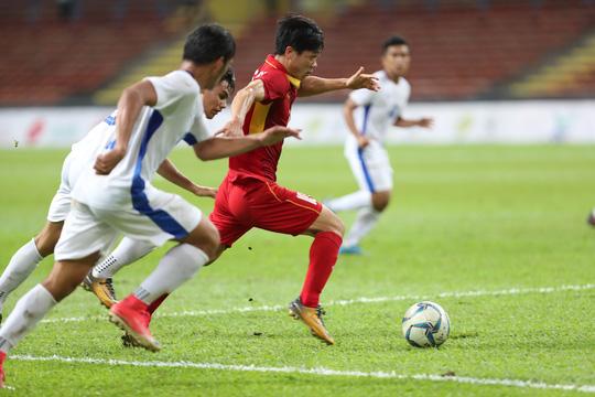 U22 Việt Nam - Philippines 4-0: Xây chắc ngôi đầu - Ảnh 6.