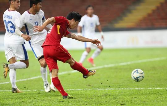 U22 Việt Nam - Philippines 4-0: Xây chắc ngôi đầu - Ảnh 7.