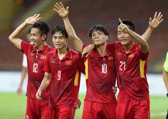 U22 Việt Nam - Philippines 4-0: Xây chắc ngôi đầu - Ảnh 12.