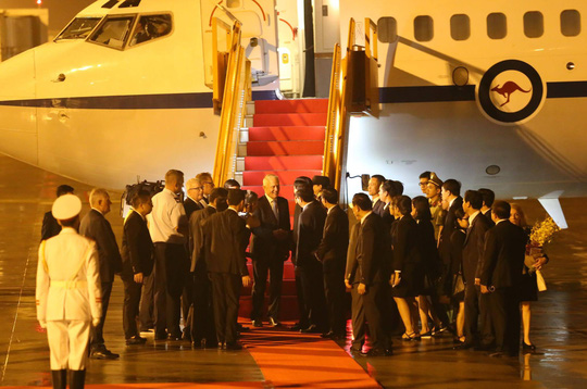 APEC 2017: Thủ tướng Nhật đến Đà Nẵng lúc 21 giờ - Ảnh 3.