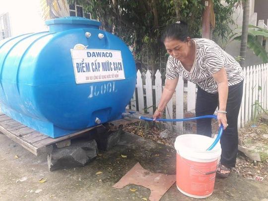 Thiếu nước sạch - Ảnh 1.