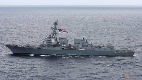 Việt Nam phản ứng trước việc tàu khu trục Mỹ tuần tra ở Biển Đông - Ảnh 1.