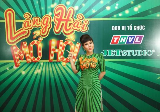Danh hài Việt Hương trở lại Làng Hài Mở Hội mùa 2 - Ảnh 1.