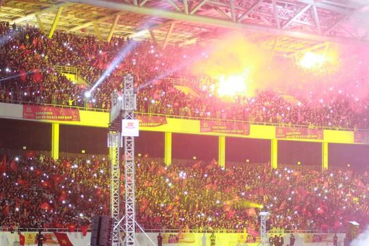Tuyển thủ U23 Việt Nam cất cao lời ca chiến thắng tặng người hâm mộ - Ảnh 8.