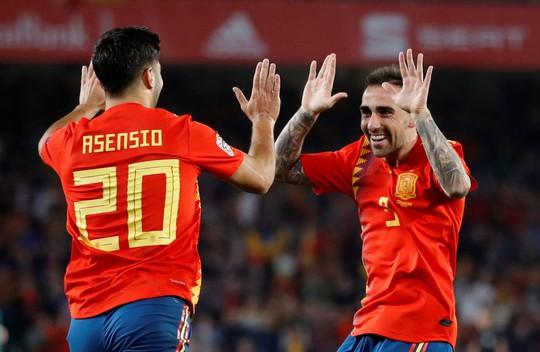 Ngược dòng bất thành, Tây Ban Nha thua sốc Tam sư Anh - Ảnh 5.