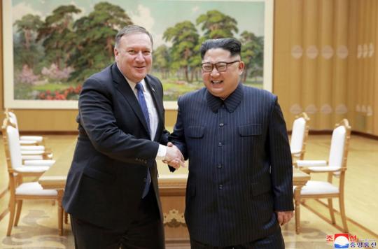Vừa gỡ mìn với Hàn Quốc, Triều Tiên vừa lên giọng với Mỹ - Ảnh 1.