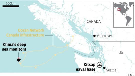Thiết bị theo dõi của Trung Quốc được cài gần căn cứ hải quân Mỹ - Ảnh 1.
