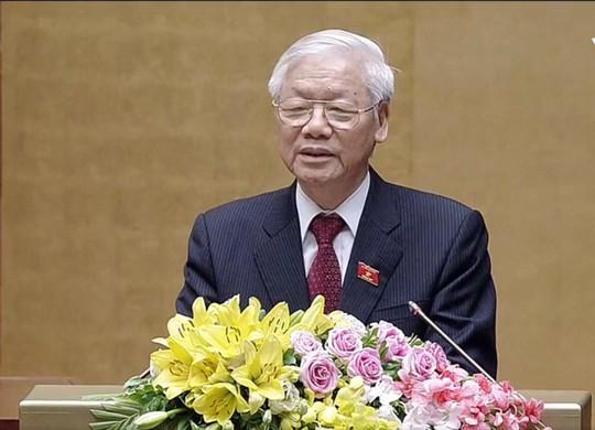 Chủ tịch nước Nguyễn Phú Trọng tuyên thệ nhậm chức - Ảnh 4.