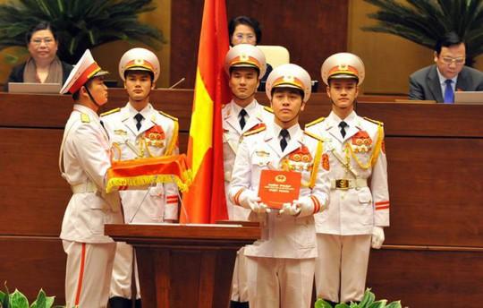 Chủ tịch nước Nguyễn Phú Trọng tuyên thệ nhậm chức - Ảnh 6.
