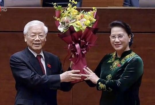 Chủ tịch nước Nguyễn Phú Trọng tuyên thệ nhậm chức - Ảnh 5.