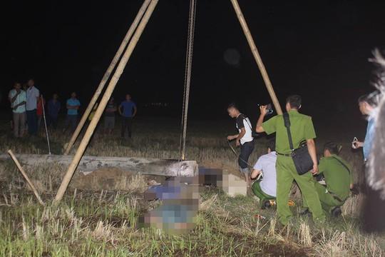 Dựng cột viễn thông, 4 người bị điện phóng tử vong - Ảnh 1.