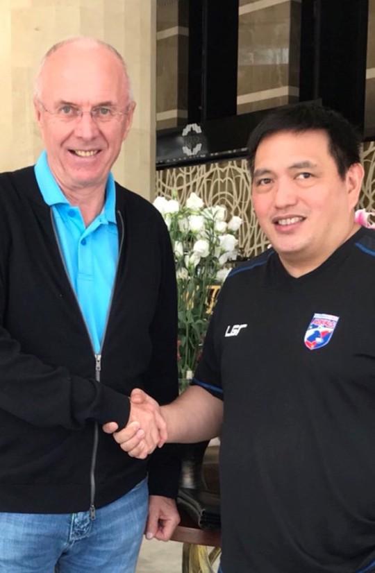 Philippines chơi trội mời HLV Eriksson dẫn dắt ở AFF Cup 2018 - Ảnh 1.