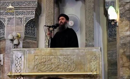 Con trai út thủ lĩnh IS chết vì bom Nga - Ảnh 2.
