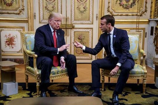 """Tổng thống Pháp giúp ông Trump """"trút gánh nặng"""" - Ảnh 1."""