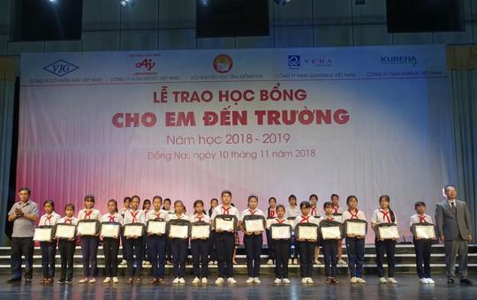 Tiếp sức giấc mơ đến trường cho học sinh tỉnh Đồng Nai - Ảnh 3.