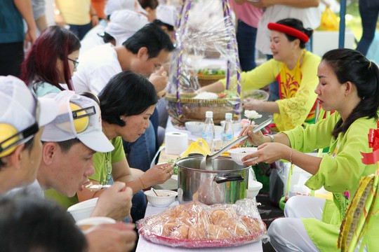Hàng trăm món ngon ở lễ hội ẩm thực Vissan - Ảnh 10.