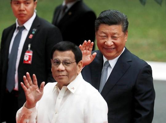 Philippines ký thỏa thuận thăm dò dầu khí với Trung Quốc - Ảnh 2.