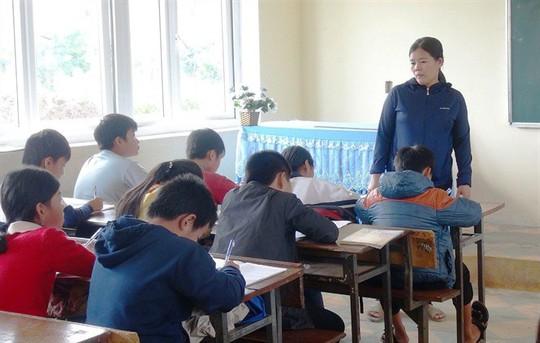 Vụ cô giáo chỉ đạo tát học sinh 231 cái: Nhà trường lấy lời khai học sinh - Ảnh 3.