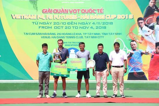 Chùm ảnh Lý Hoàng Nam về nhì Vietnam F5 Futures 2018 - Ảnh 1.