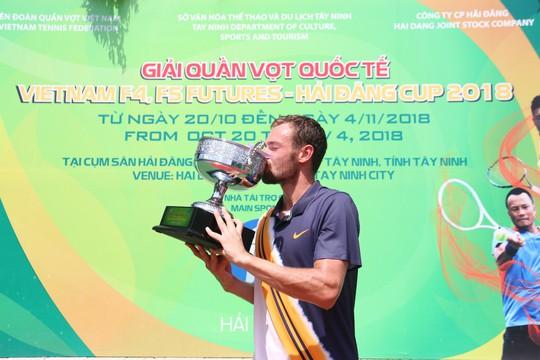 Chùm ảnh Lý Hoàng Nam về nhì Vietnam F5 Futures 2018 - Ảnh 7.