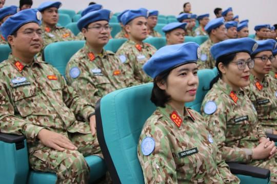 Ra mắt bệnh viện dã chiến số 2 của Việt Nam - Ảnh 2.