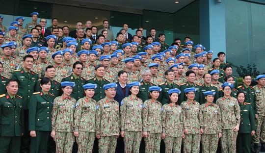 Ra mắt bệnh viện dã chiến số 2 của Việt Nam - Ảnh 4.