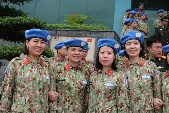 Ra mắt bệnh viện dã chiến số 2 của Việt Nam - Ảnh 13.