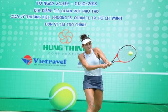 Kiều nữ quần vợt Alizé Lim dự giải 8 tay vợt mạnh toàn quốc - Ảnh 1.