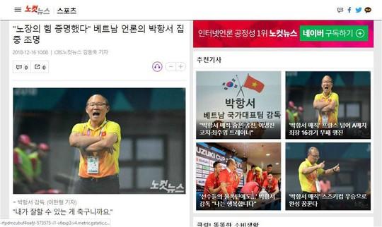Truyền thông Hàn Quốc ca ngợi HLV Park Hang-seo - Ảnh 1.