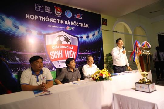 TP HCM tiếp tục tìm kiếm tài năng bóng đá từ sinh viên - Ảnh 1.