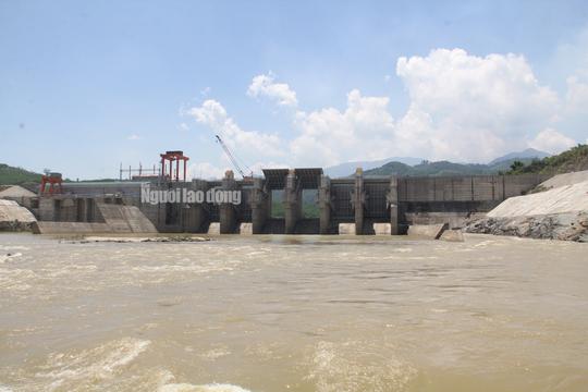 Thủy điện Sông Tranh 3 xả nước, người đàn ông chăn bò bị cuốn trôi - Ảnh 1.