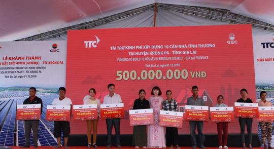 Khánh thành nhà máy Điện mặt trời TTC Krông Pa - Ảnh 3.