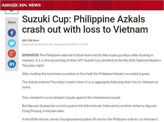 Truyền thông quốc tế đồng loạt tung hô tuyển Việt Nam  - Ảnh 8.