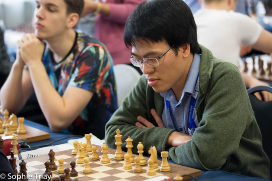Lê Quang Liêm lần đầu vào tốp 20 thế giới - Ảnh 1.