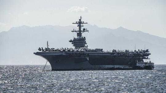 Hình ảnh mới nhất trên Biển Đông của tàu sân bay Mỹ sắp đến Việt Nam - Ảnh 3.