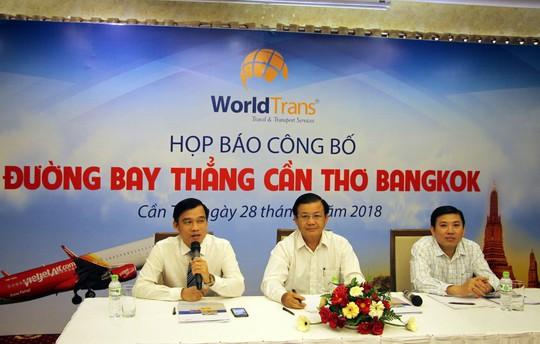 """Dân ĐBSCL sẽ """"bay"""" thẳng đến Bangkok  - Ảnh 1."""
