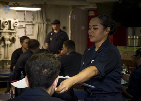 Hình ảnh mới nhất trên Biển Đông của tàu sân bay Mỹ sắp đến Việt Nam - Ảnh 13.
