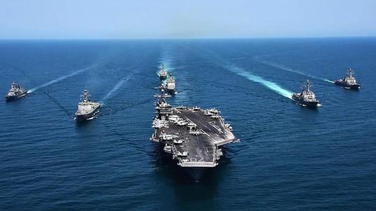 Bộ Quốc phòng thông tin về chuyến thăm Việt Nam của tàu sân bay Mỹ - Ảnh 1.