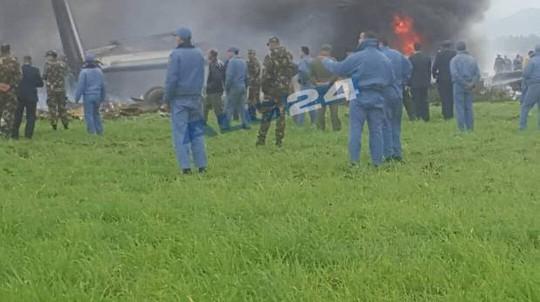 Rơi máy bay quân sự, 257 người thiệt mạng - Ảnh 1.