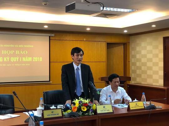 Bộ TN-MT lý giải việc bổ nhiệm cán bộ bị kỷ luật trong vụ Formosa - Ảnh 1.