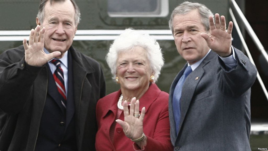 Nữ hoàng nhà Bush và tình yêu một đời - Ảnh 1.