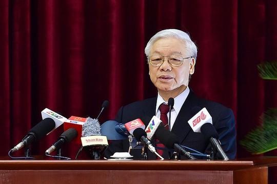 Phát biểu bế mạc Hội nghị Trung ương 7, Tổng Bí thư nhấn mạnh kiểm soát chặt công tác cán bộ - Ảnh 1.